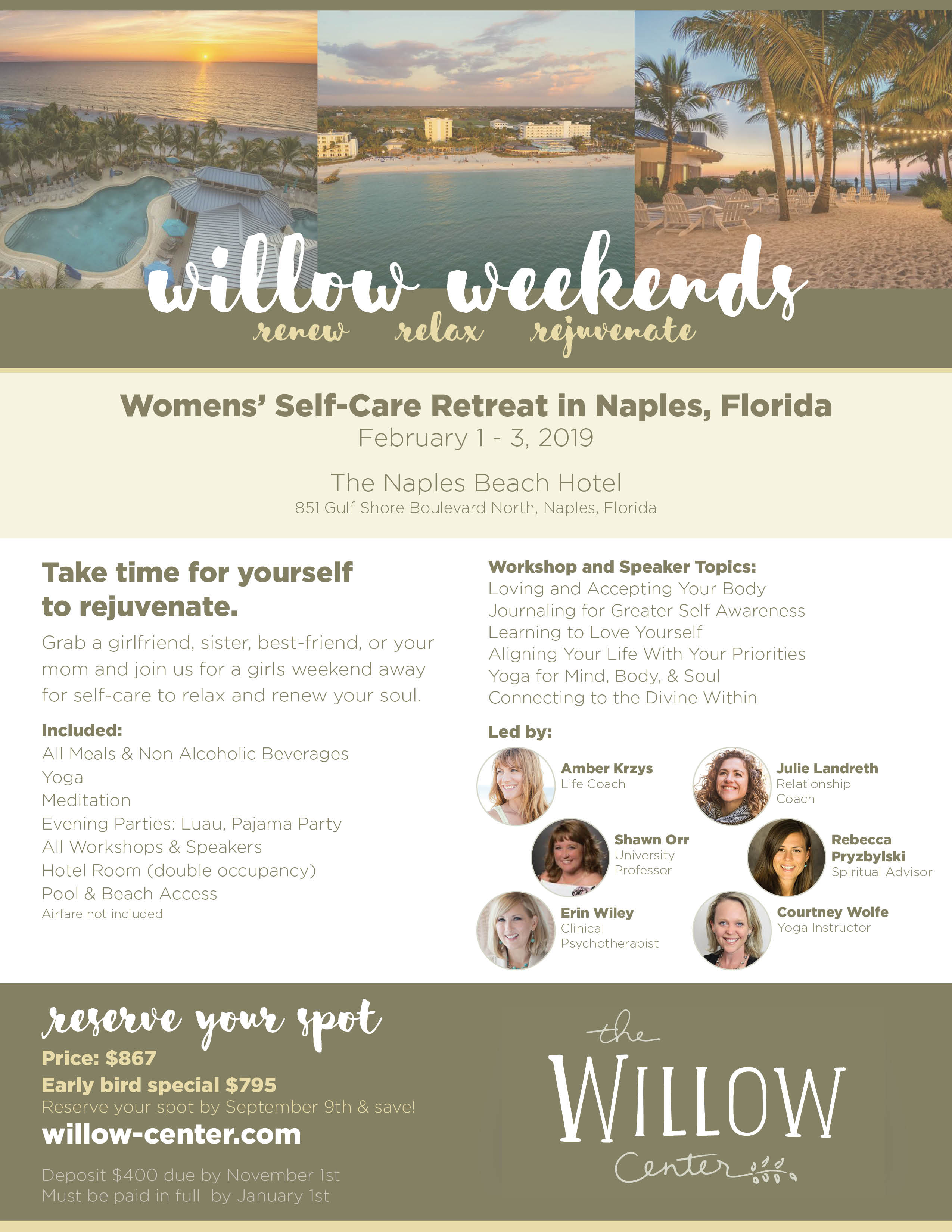2019 Willow Weekend Flyer